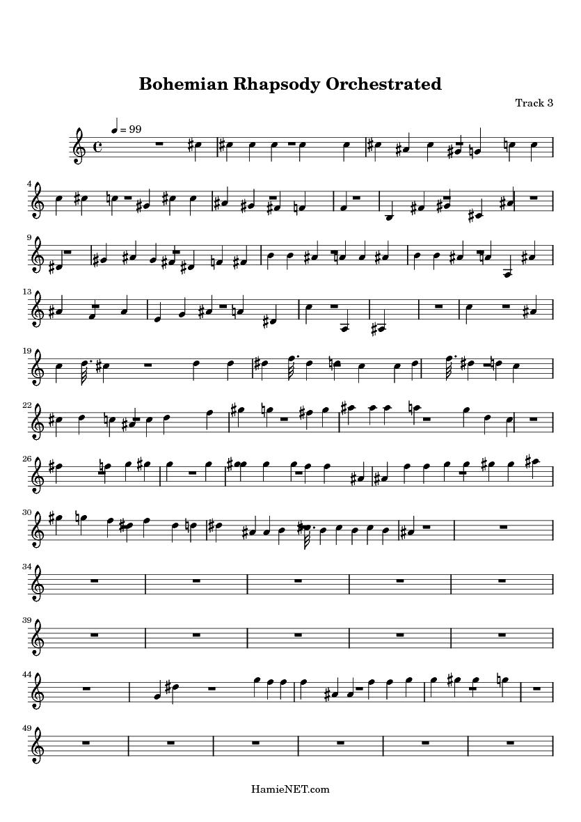 Bohemian Rhapsody Flute Sheet Music Heartpulsar