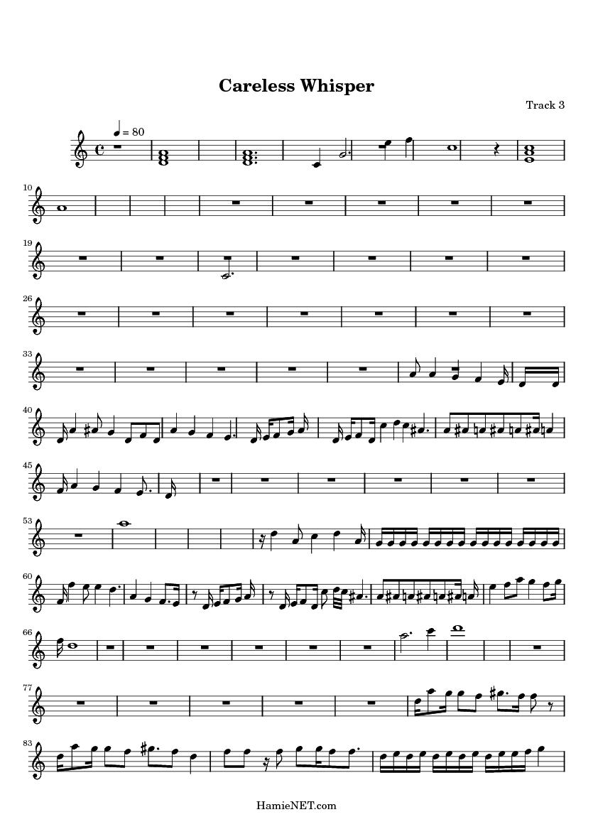 Sexy sax man sheet music