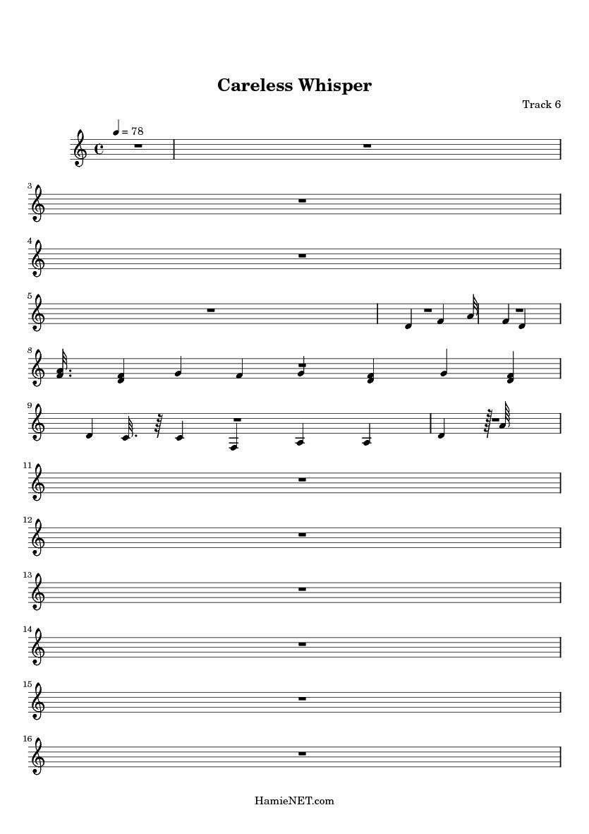careless whisper alto sax sheet music pdf free