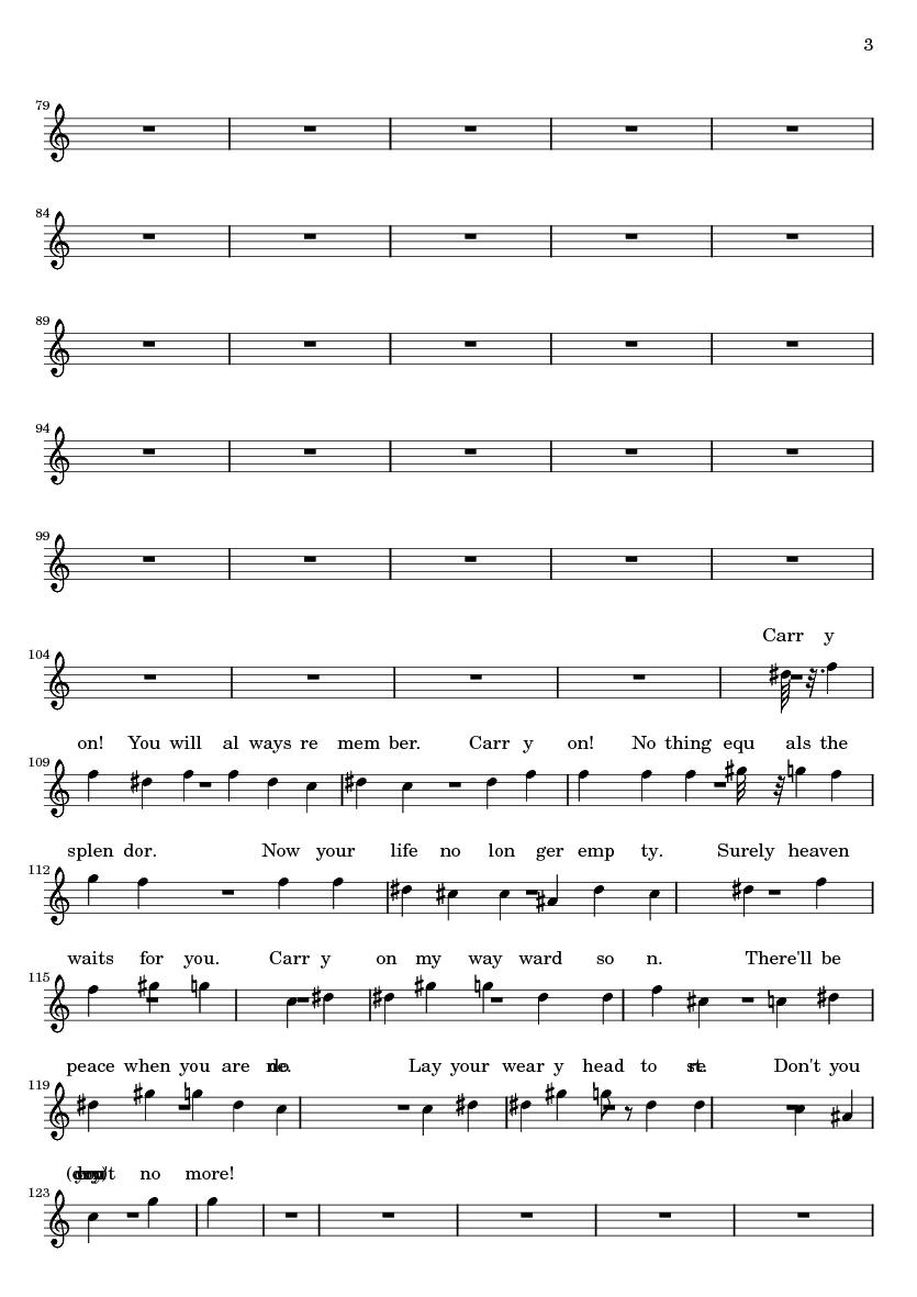 carryon my wayward son sheet music pdf
