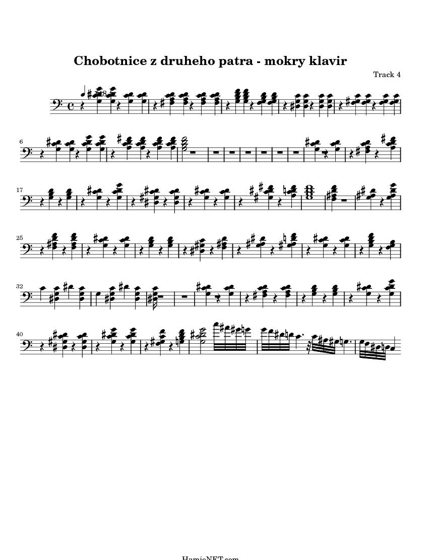 Bloodstream stateless piano sheet music