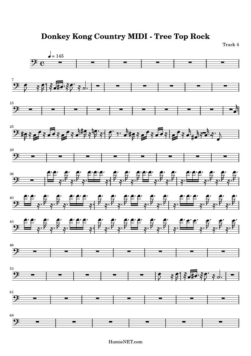 Donkey Kong Country:Soundtrack(Midi Keyboard)Unfinished ...