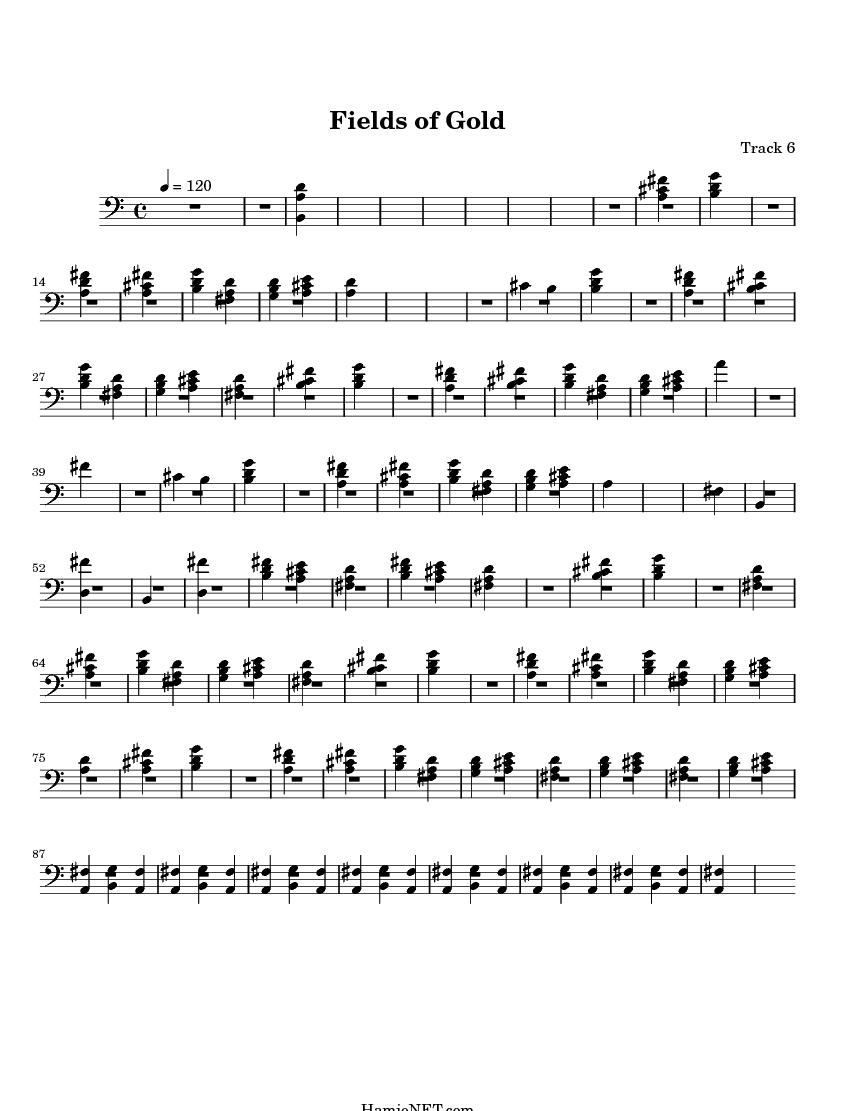 Fields of Gold Sheet Music - Fields of Gold Score ...