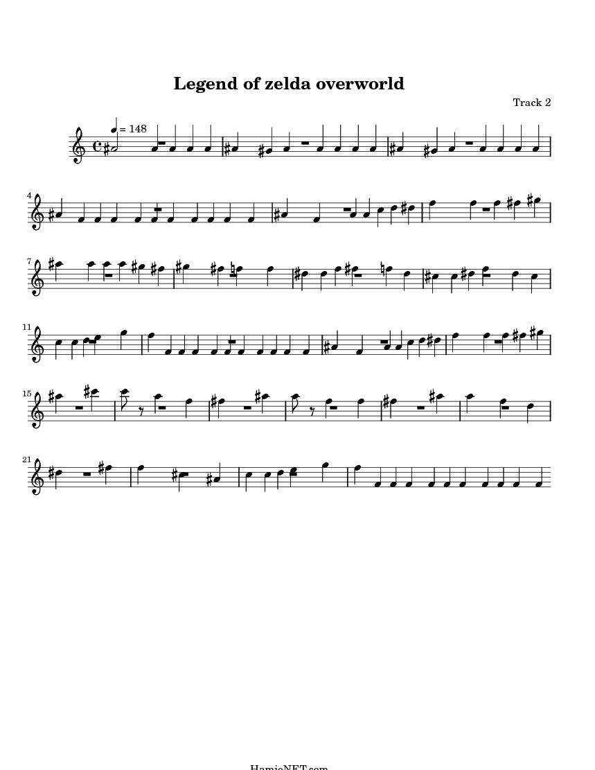 zelda piano sheet music: