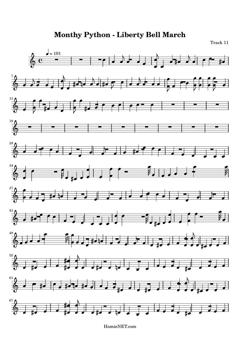 Liberty bell lyrics