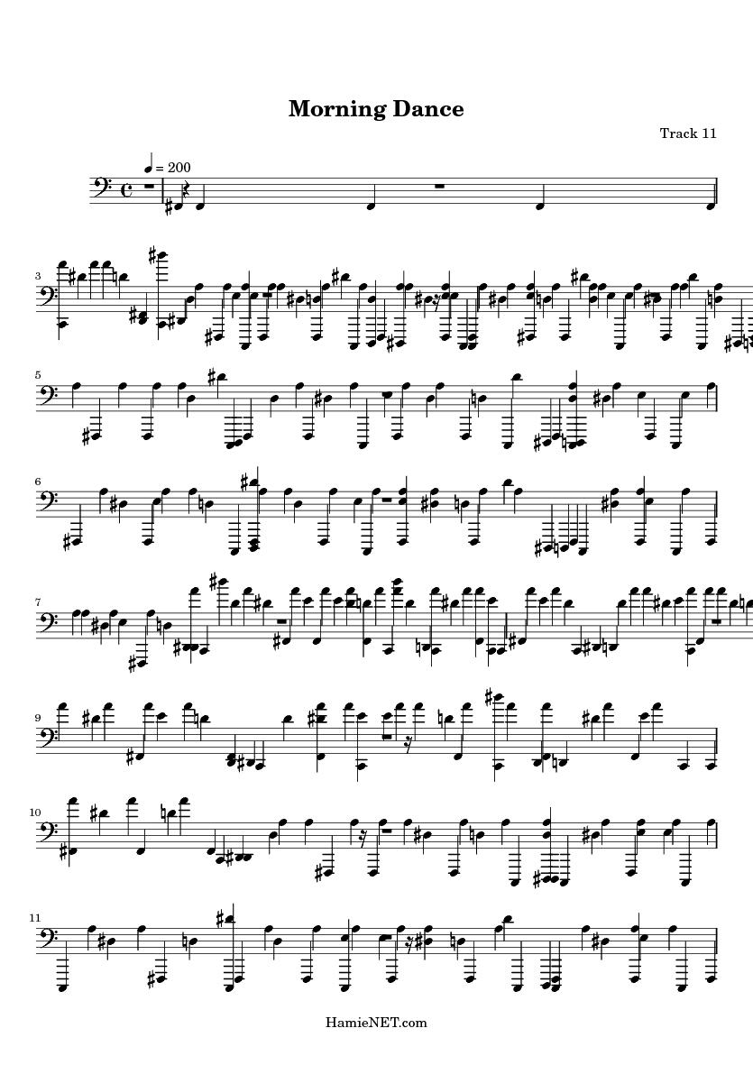 i danced in the morning sheet music pdf