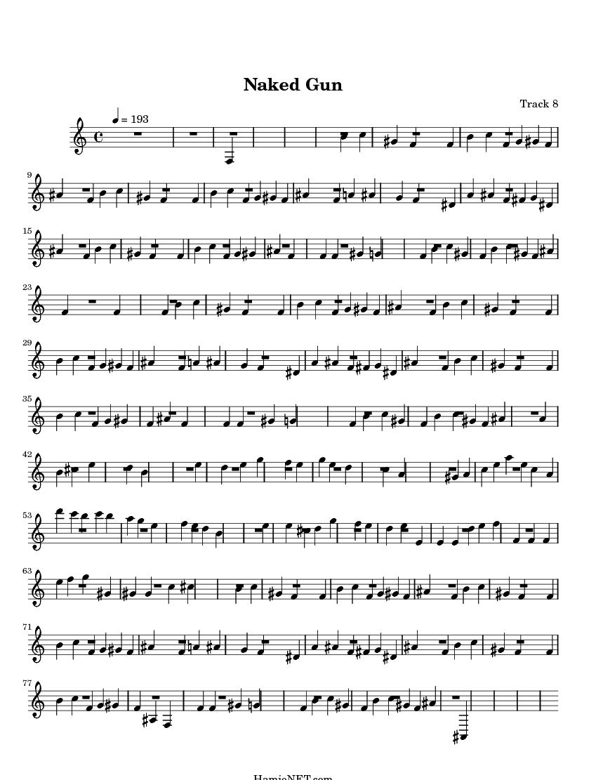 Very dirty asian music sheet getting sea