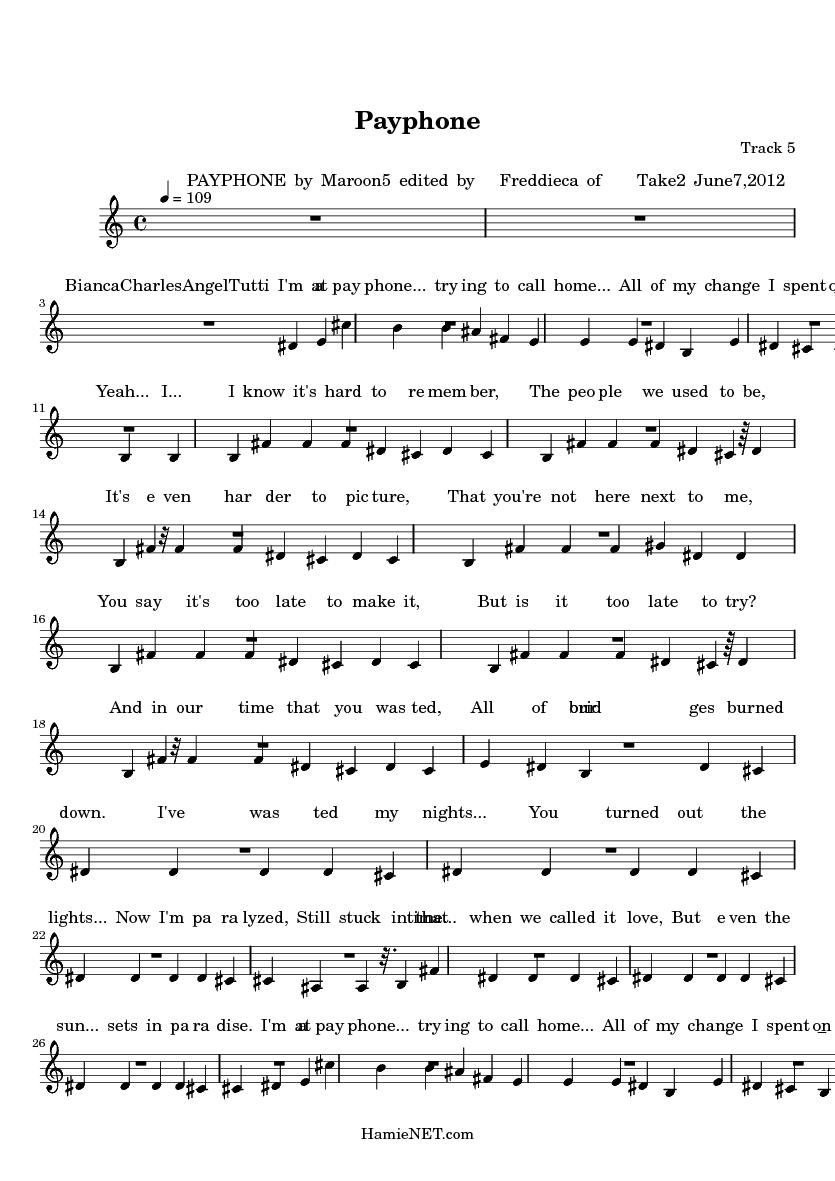 payphone sheet music|Piano Sheet|Maroon_3sir图片搜索