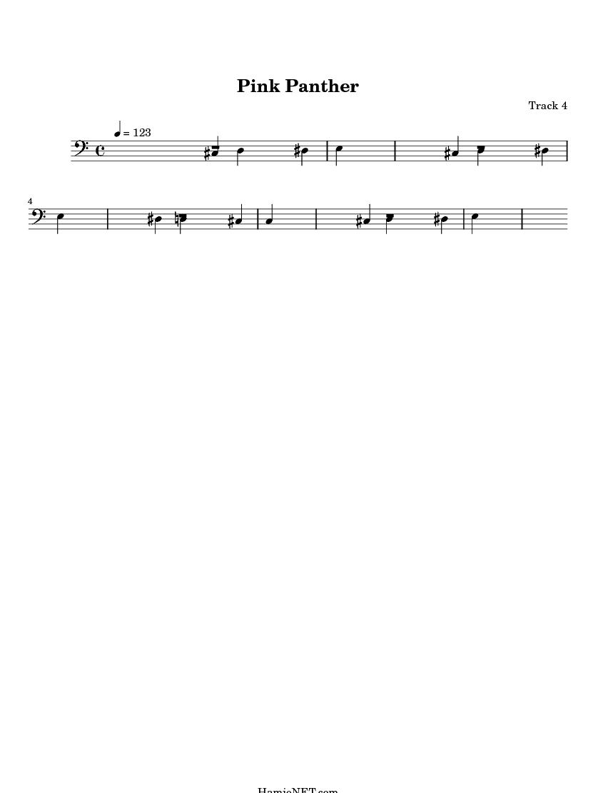 pink panther sheet music pdf