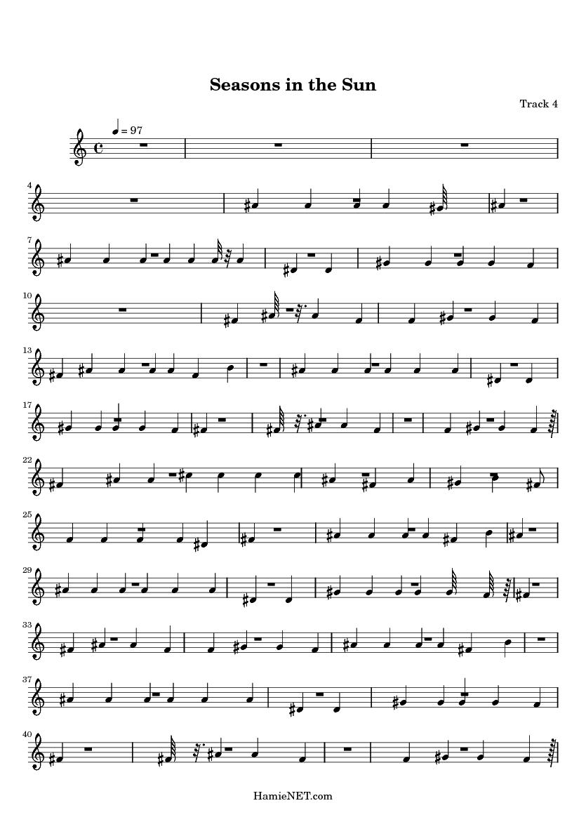 Terry Jacks - Seasons in the Sun Lyrics Meaning