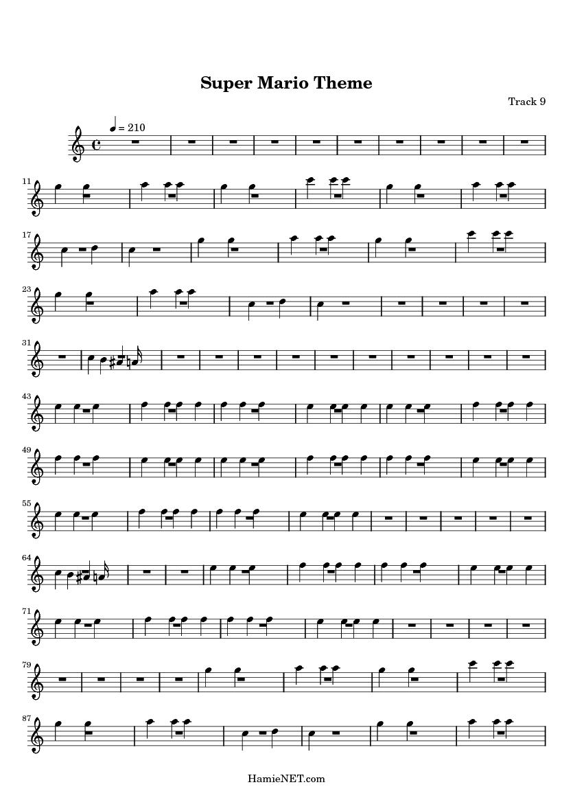 Easy Violin Music Sheet Mario http://www.hamienet.com/score31224-9 ...