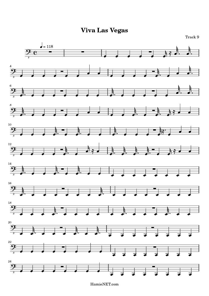 viva las vegas sheet music viva las vegas score hamienet com